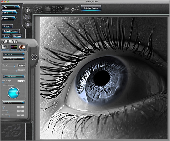 Auto FX Software Photoshop Plug-Ins - AutoEye Gen1 - Exclusive 28% Off New Purchase 20% off Upgrades