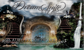 Auto FX Software Photoshop Plug-Ins - DreamSuite Ultimate Gen1 - Exclusive 28% Off