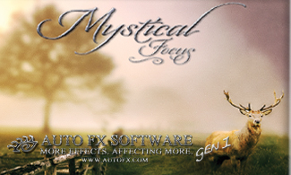 Auto FX Software Photoshop Plug-Ins - Mystical Focus Gen1 - Exclusive 28% Off