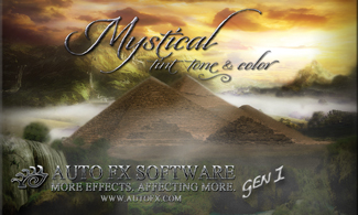 Auto FX Software Photoshop Plug-Ins - Mystical Lighting & Ambiance Gen1 - Exclusive 28% Off