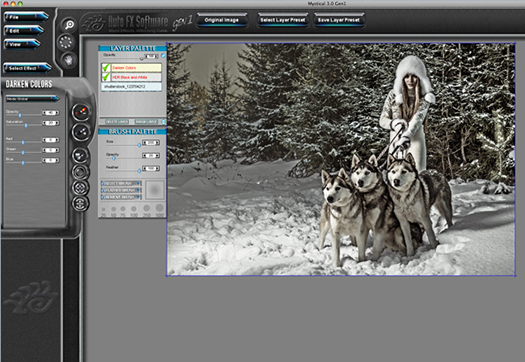 Auto FX Software Photoshop Plug-Ins - Mystical Tint Tone & Color Gen1 - Exclusive 28% Off