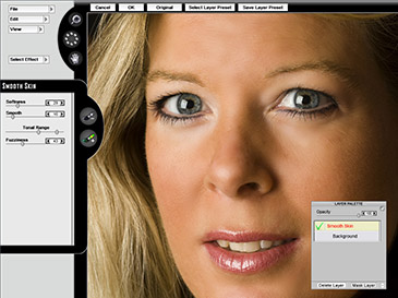 A powerful and reliable tool which lets you easily retouch and enhance portrait photos