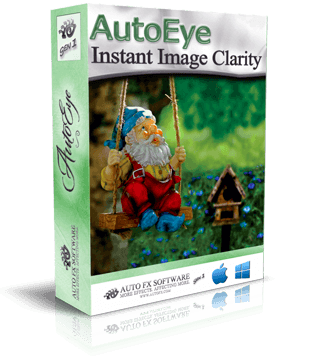 AutoEye Gen1 Photoshop Plugin Box Shot