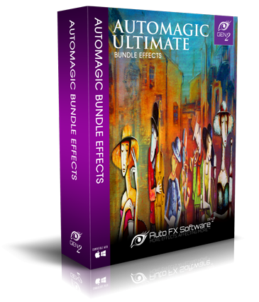 AutoMagic Ultimate Bundle Gen2 Photoshop Plugin Box Shot