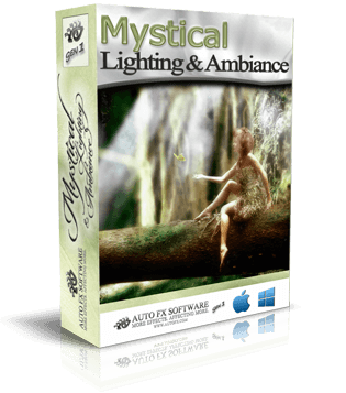 Mystical Lighting & Ambiance Gen1 Photoshop Plugin Box Shot