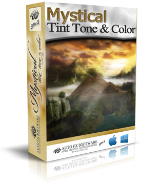 Mystical Tint, Tone & Color Gen1 Photoshop Plugin Box Shot