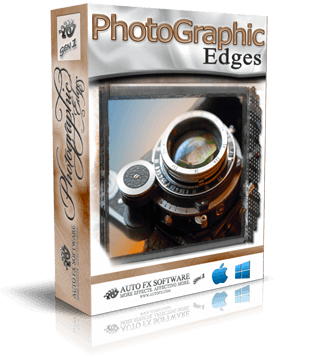 PhotoGraphic Edges Gen1 Photoshop Plugin Box Shot