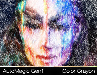 AutoMagic Pro Photo Effects Gen1 Photoshop Plugin - Photo Effect Example 1