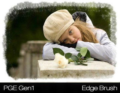 PhotoGraphic Edges Gen1 Photoshop Plugin - Edge Effect Example 1